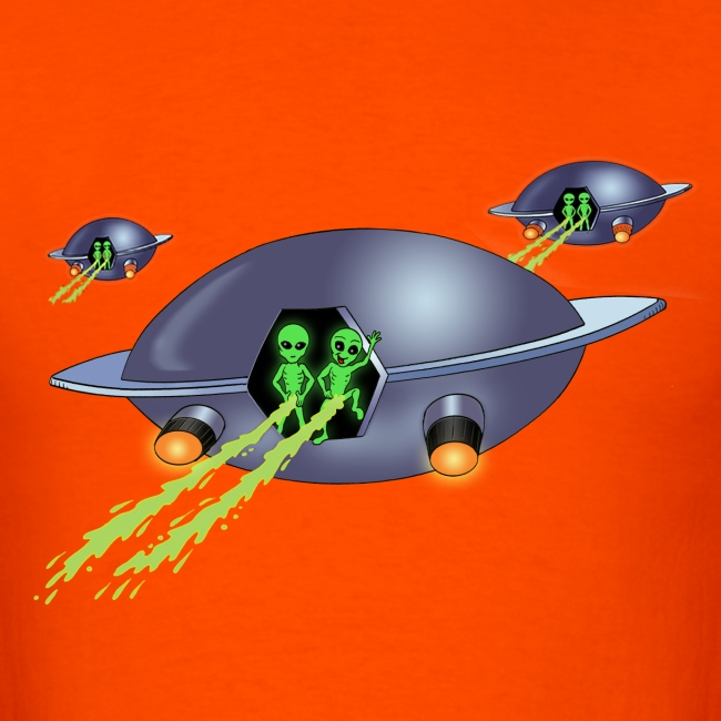 Aliens Peeing