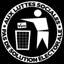 Aux luttes sociales. Pas de solution électorale