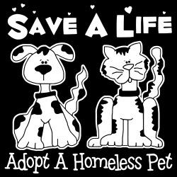 Save a life - adopt a homeless pet