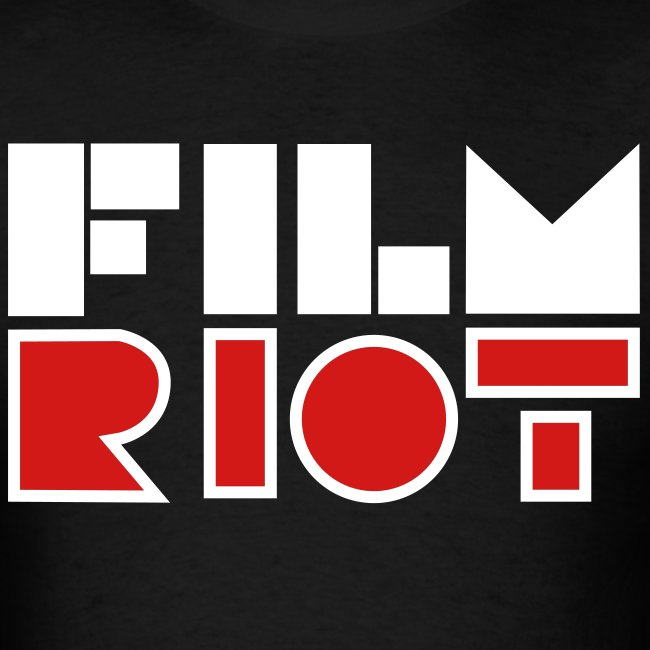vertical FilmRiot logo space solid