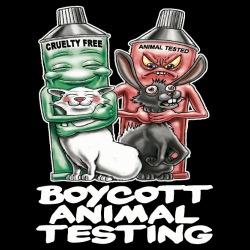 Boycott animal testing