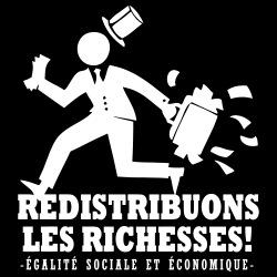 Redistribuons les richesses! Égalité sociale et économique