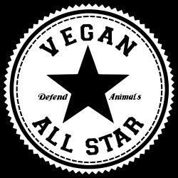 Vegan all star. Defend animals