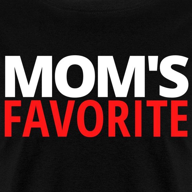 Mom's Favorite (white & red version)