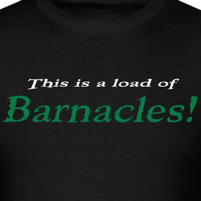 Supricky06 Barnacles Rev 2 Mens T Shirt