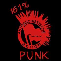 Antifaschistische aktion - 161% Punk