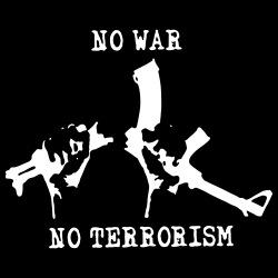 No war no terrorism