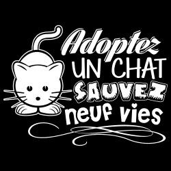 Adopter un chat sauvez neuf vies