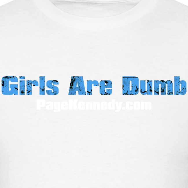 girlsdumb blue