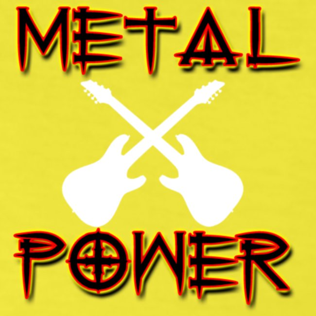 MetalPower by GuitarLoversCustomTeesLogo png