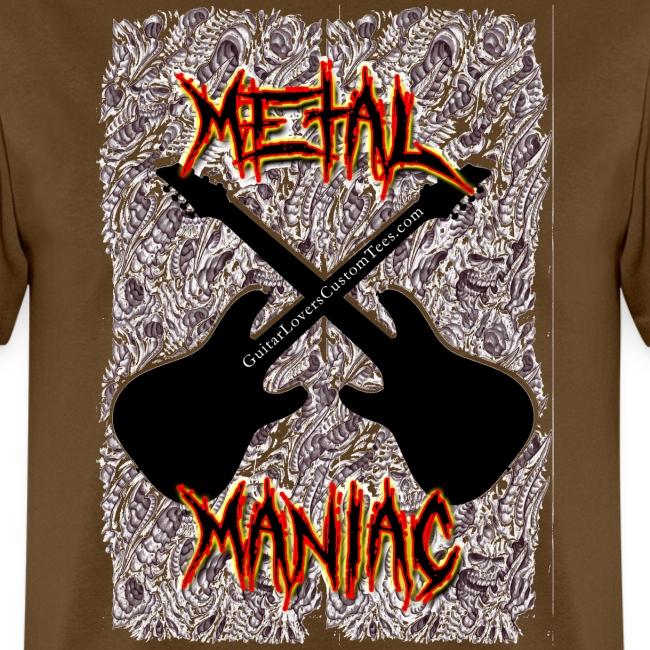 MetalManiac by GuitarLoversCustomTees gif
