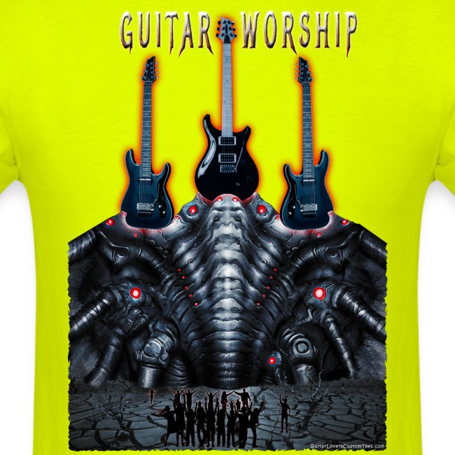 Guitar Worship by Michael Groebel png