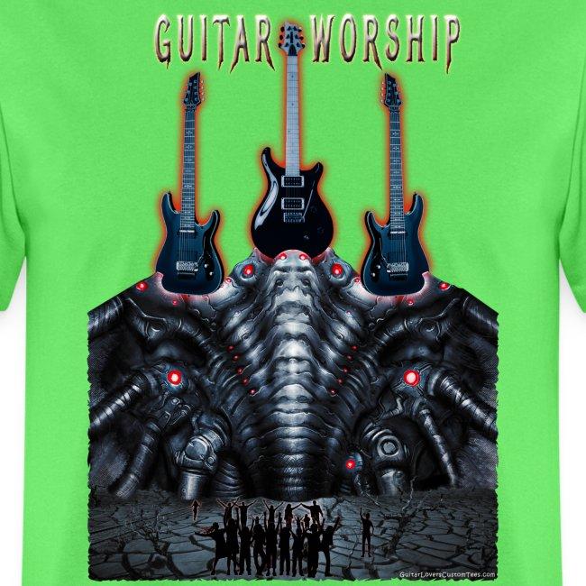 Guitar Worship by Michael Groebel png