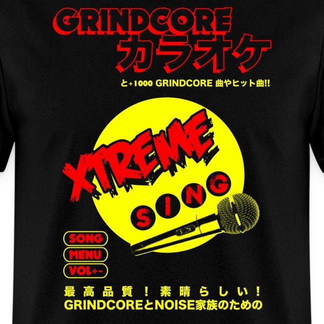Grindcore Karaoke high res tshirt design png