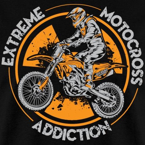 Dirt Bike Addiction - Men's T-Shirt