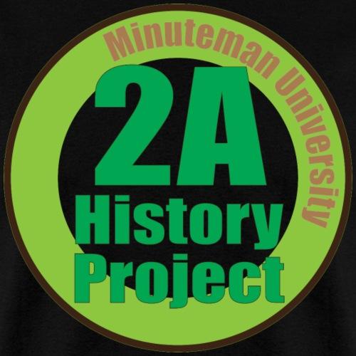 2A History Project - Men's T-Shirt