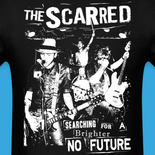THE SCARRED Brighter No Future - Men's T-Shirt