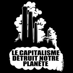 Le capitalisme détruit notre planète