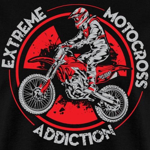 Motorcross Addiction - Men's T-Shirt