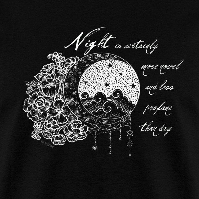 Night Thoreau Quote Tshirt