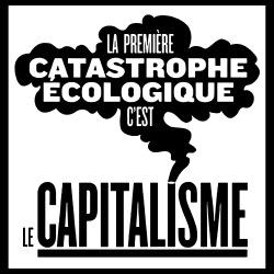 La première catastrophe écologique c\'est le capitalisme