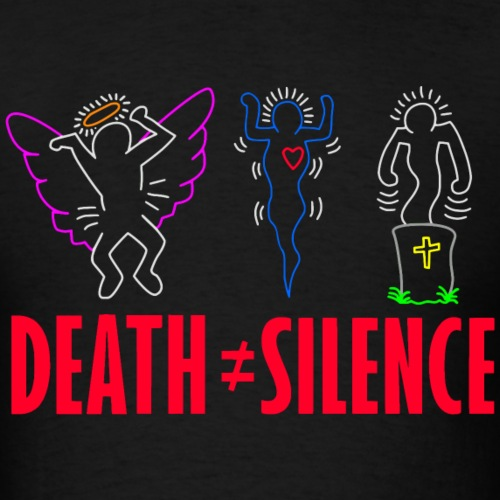 Death Does Not Equal Silence - Men's T-Shirt