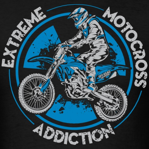 Motorcross Addiction - Men's T-Shirt