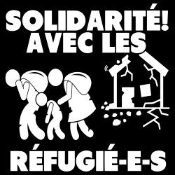 Solidarité avec les réfugié-e-s