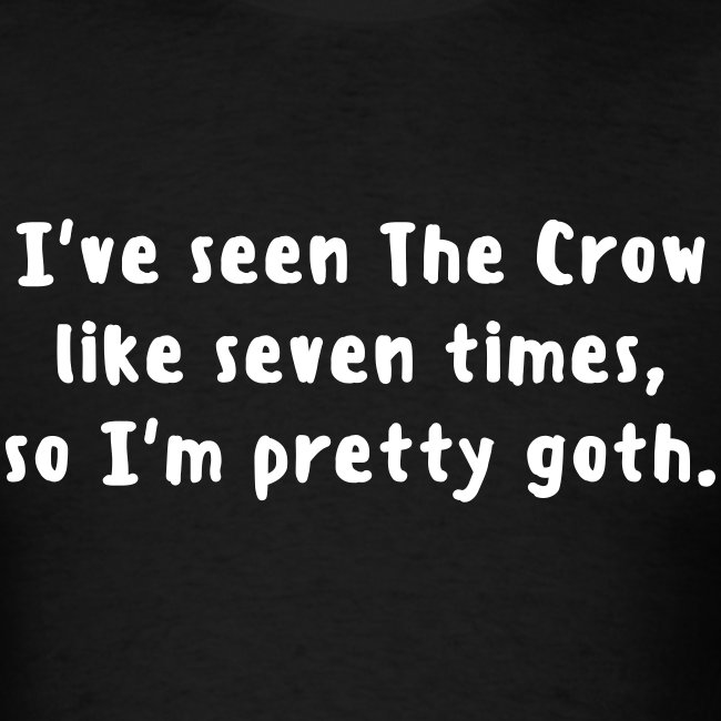 The Crow is Goth