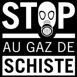Stop au gaz de schiste