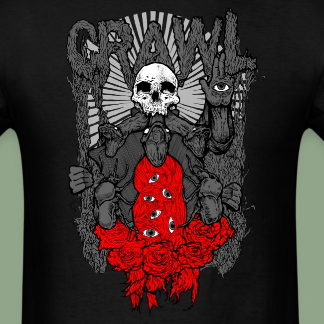 Crawl - Nigredo (shirt)