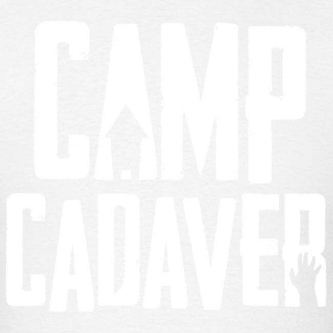 Camp Cadaver White Logo