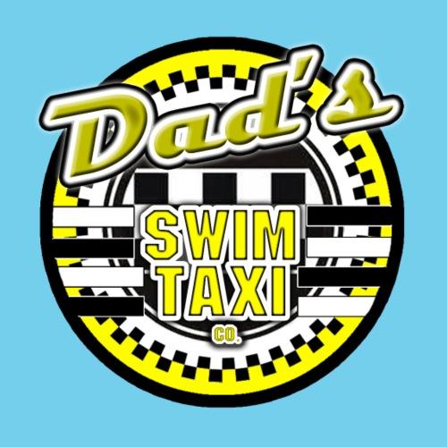 Dad's Swim Taxi - Men's T-Shirt