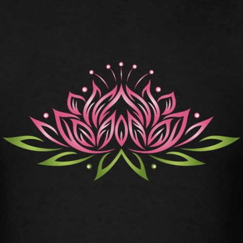 Large Lotus Flower With Colorful Effects Yoga We Mirror Worlds Shop