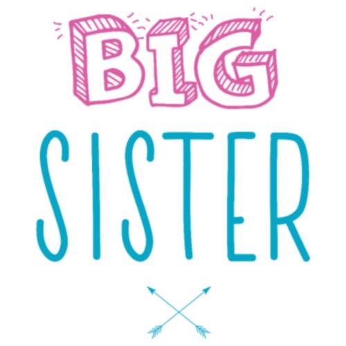 Big Sister Announcement Little - Men's T-Shirt