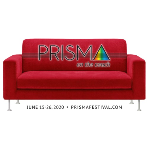 PRISMA on the Couch: Red - Men's T-Shirt