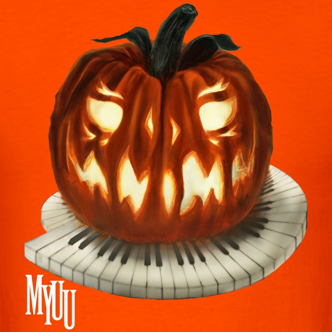 Piano Pumpkin