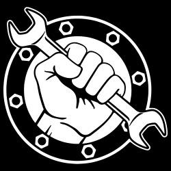 Working Class Raised Fist