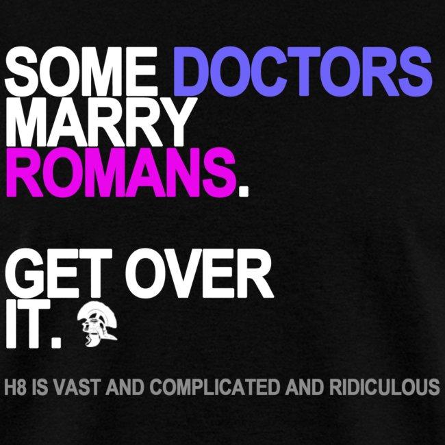 some doctors marry romans black shirt