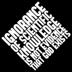 Ignorance of scientific knowledge is not evidence that god exists