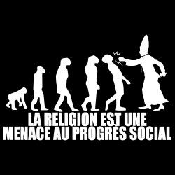La religion est une menace au progrès social