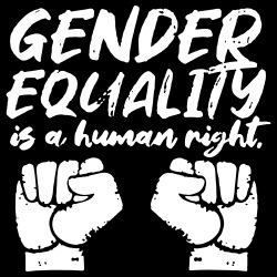 Gender equality is a human right