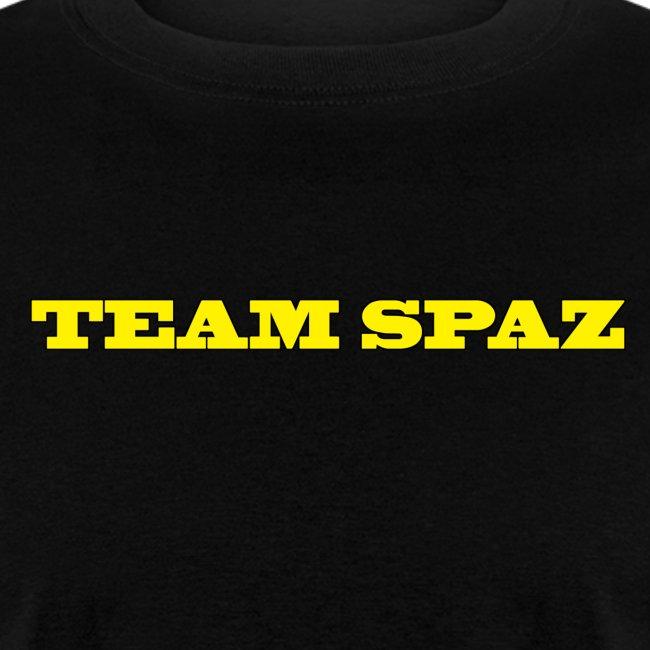 team spaz words
