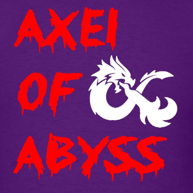 Axelofabyss dragon shirt