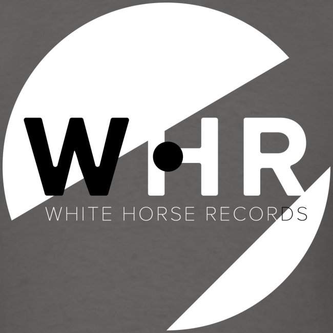 White Horse Records Logo - Black