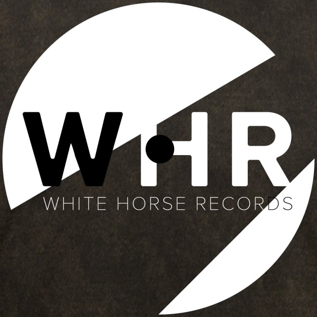 White Horse Records Logo - Black
