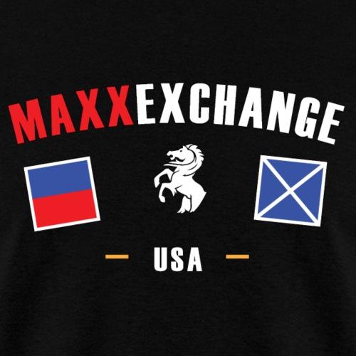 Maxx Exchange Stallion Catamaran Powerboat Skipper - Men's T-Shirt
