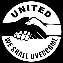 United we shall overcome