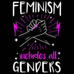 Feminism includes all genders