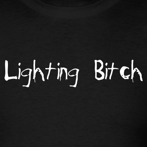 lightingbitch - Men's T-Shirt